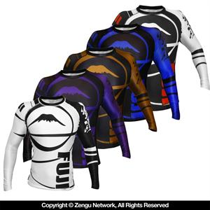 Fuji BJJ Ranked Rashguards - Long Sleeve